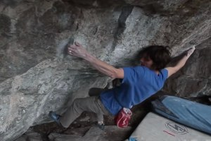 Updated: Dave Graham third ascent of White Noise V15