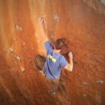 Paul Dusatko sends Serious Legends V9 – Hueco Tanks, TX
