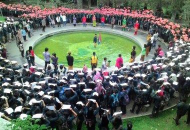 Aksi Indonesia Tetap Bersatu