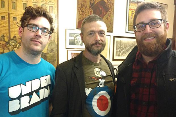 Fotografía junto a Ralf König y Bymartínez