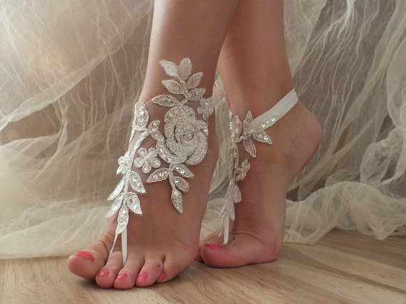 Lady Vivienn - Beach Wedding Sandals
