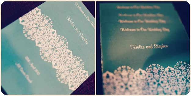 Taylor and Taylor Invitations