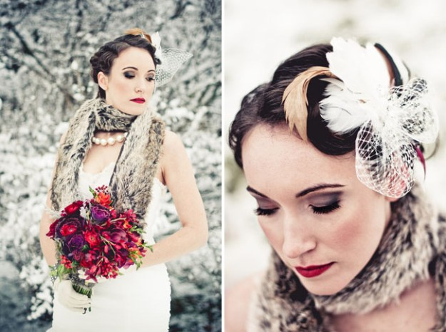 Vintage Wedding Fur