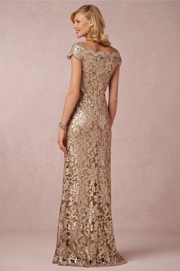 Odette Gold Dress - BHLDN