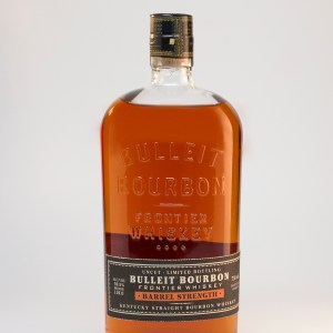 Bulleit Barrel Strength Bottle Shot