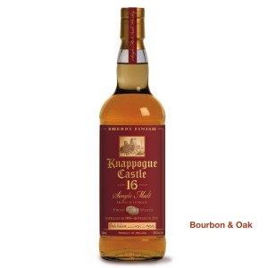 Knappogue Castle 16 Year Irish Whiskey Our Rating: 97%