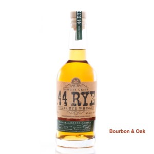 Ranger Creek .44 Caliber Texas Rye Whiskey