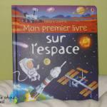 Usborne Mon premier livre sur l'espace