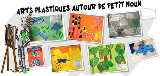 Article Petit Noun arts plastiques