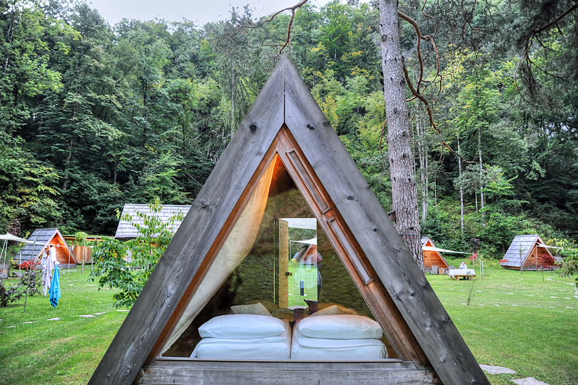 Review: Glamping by Lake Bled, Slovenia