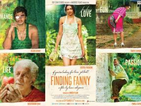 finding fanny poster