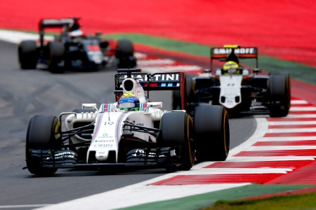 Williams and Force India duel for fourth in the standings at halfway point