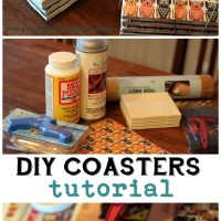 DIY Coasters for Christmas!