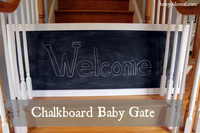 chalkboard baby gate2