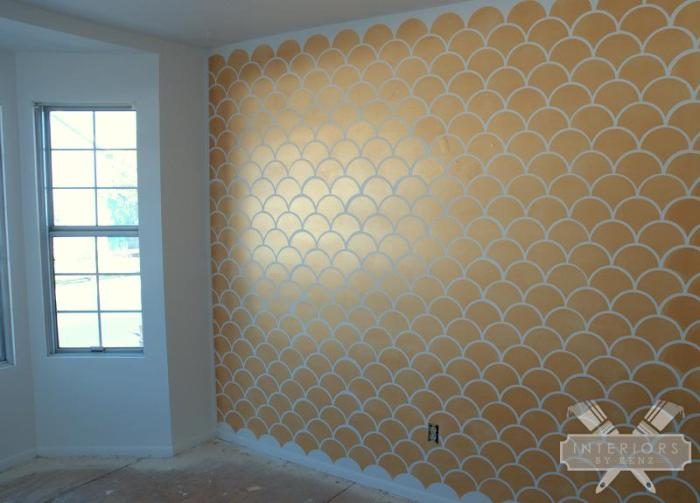 interiorsbykenz-Gold-Scallop-Accent-Wall-4