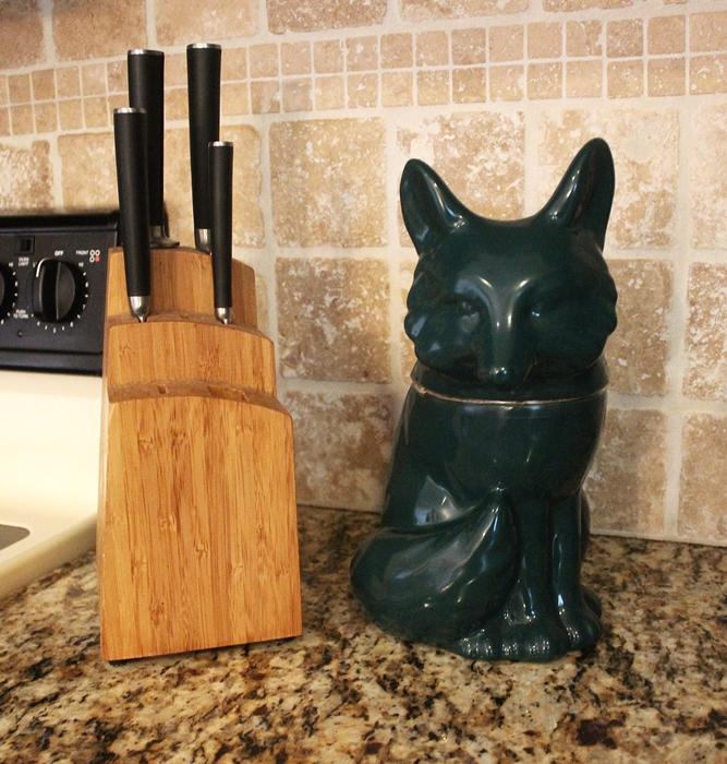 fox cookie jar