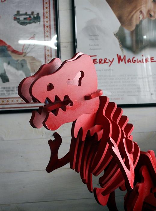 red dinosaur