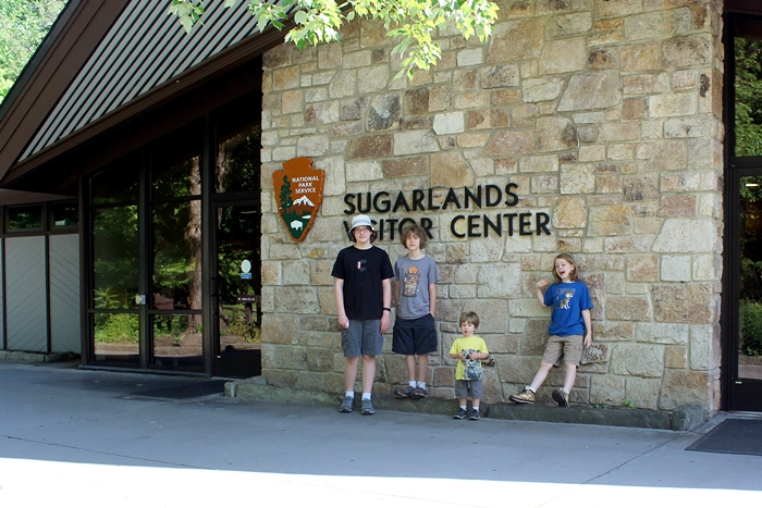 Great Smoky Mountains; Sugarlands Visitor Center