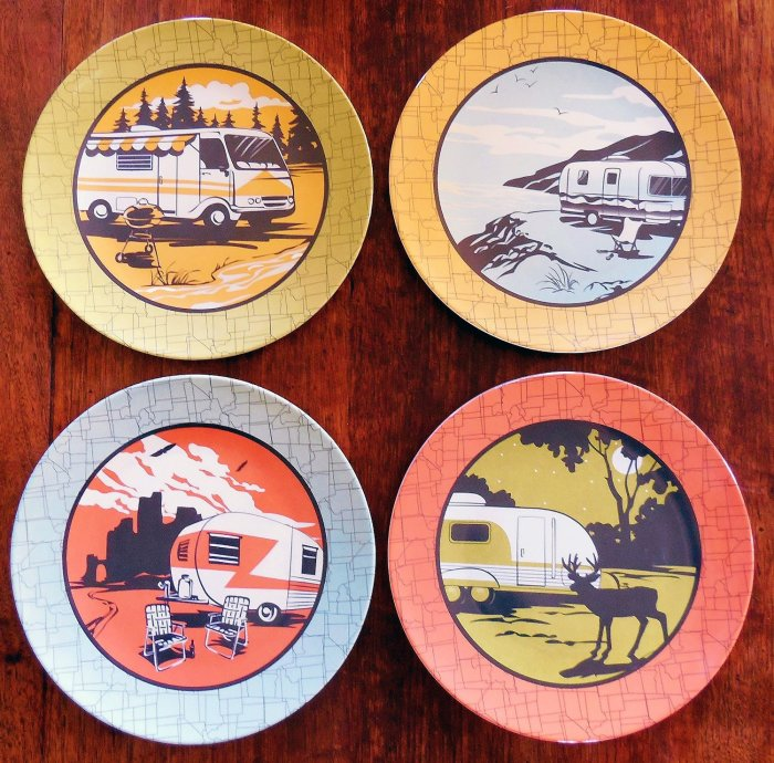 camp casual dishes