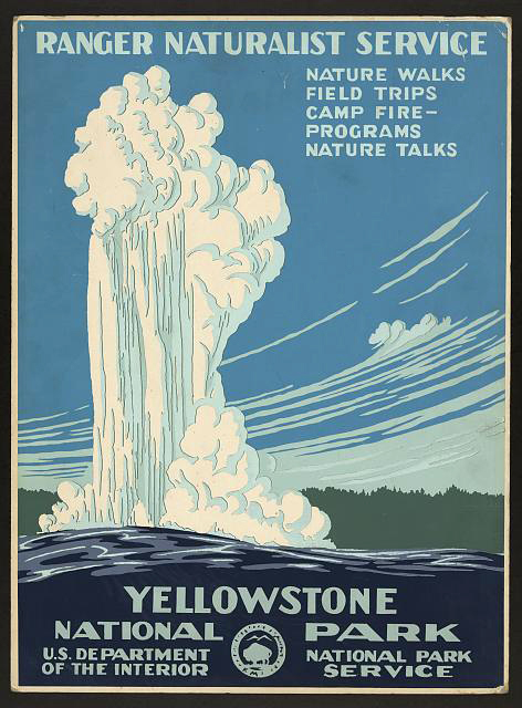 Yosemite poster from freevintageposters.com