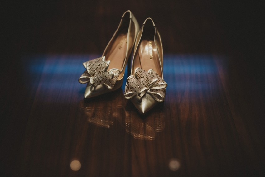 vancouver intimate wedding shoes