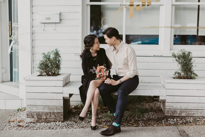 railtown engagement session