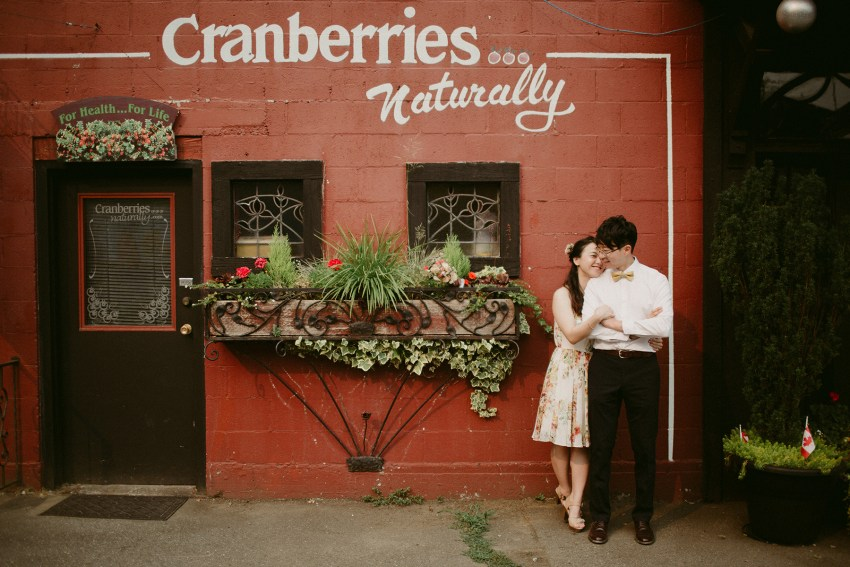 fort langley couple