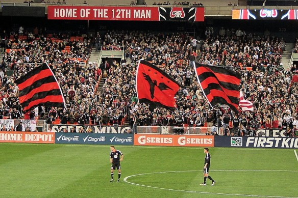 DC United - Screaming Eagles/La Barra Brava