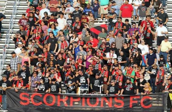 San Antonio Scorpions - Bexar County Casuals