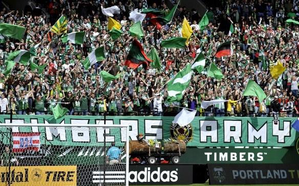Portland Timbers - Timbers Army