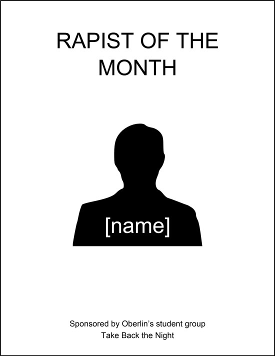 Rapist of the Month