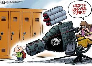 Zero Tolerance gun policies