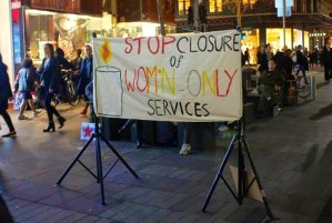 """Sydney University rallying to support women-only services that aren't even related to the university, while closing down men's services that are. All in the name of """"inclusivity."""""""