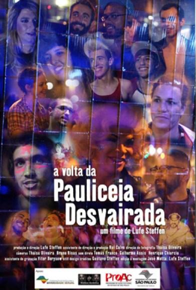 A Volta da Pauliceia Desvairada : Poster