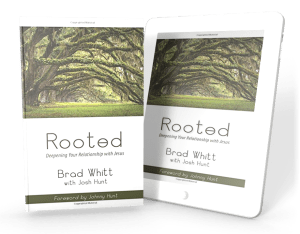 Brad Whitt Book Cover Rooted