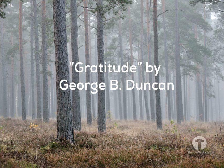 Gratitude-