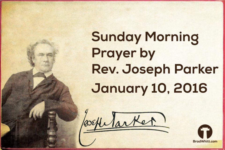 Sunday-Morning-Prayer---January-10,-2016