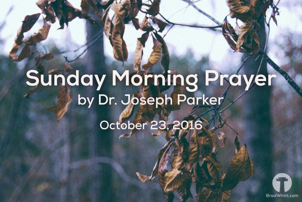 Sunday-Morning-Prayer-October-23,2016