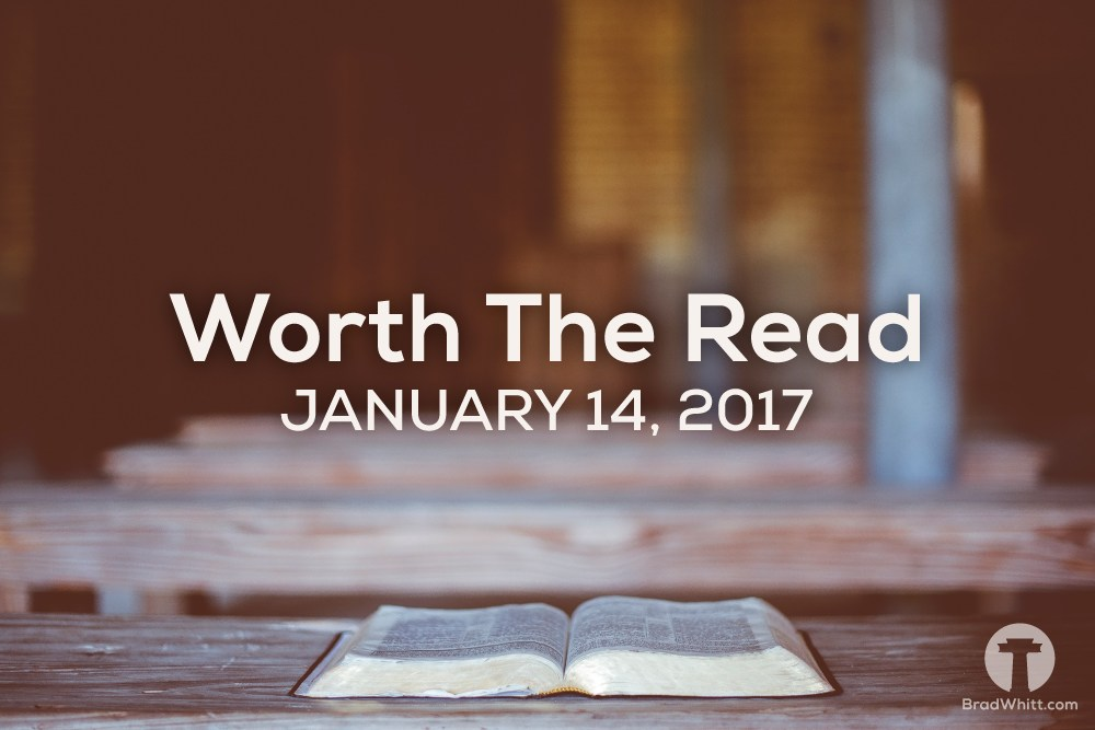 Worth the Read – January 14, 2017