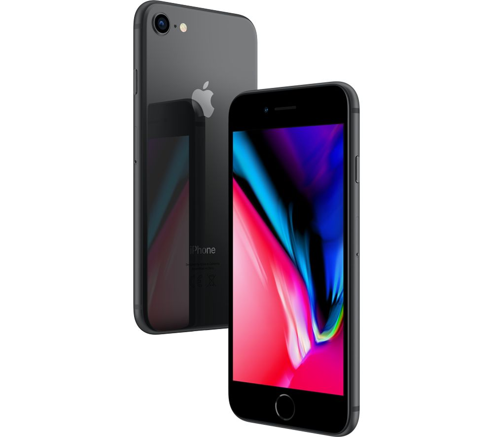 Buy APPLE iPhone 8   64 GB  Space Grey   Free Delivery   Currys APPLE iPhone 8   64 GB  Space Grey