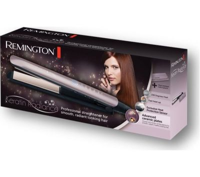 Buy REMINGTON Keratin Radiance S8596 Hair Straightener - Purple | Free Delivery | Currys