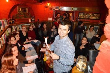 poetry reading andrei zbirnea