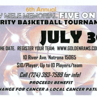 Event: 6th Annual Mary Mele Memorial Basketball Tournament