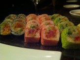 Kamikaze Roll, Samurai Roll, Scallop Roll