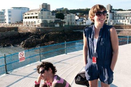 Branchage visitors at Havre de Pas, St Helier, 2011