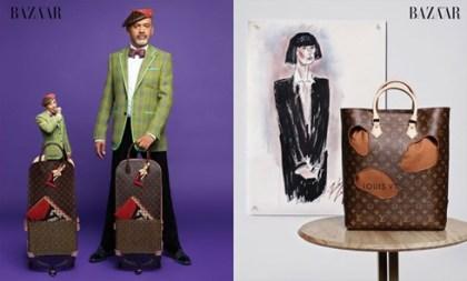 ブランドファッション通信: ルイヴィトン160周年記念に川久保玲など6人がコラボ