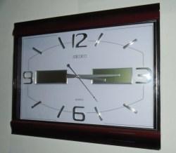 Small Of Analog Digital Wall Clock
