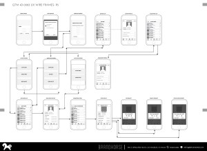 Mobile App UX Wireframes