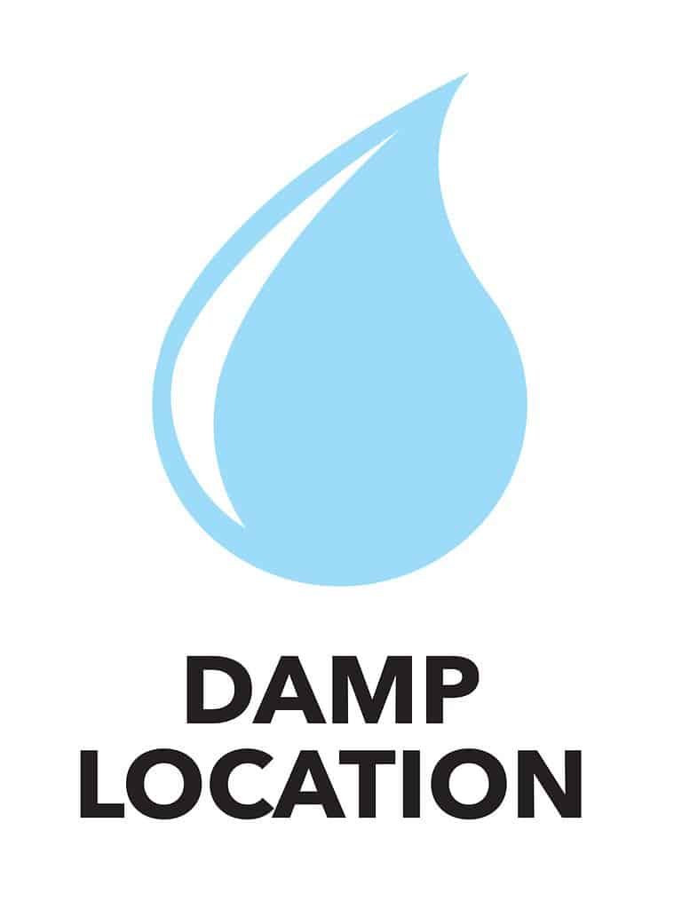 Damp location