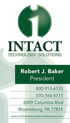 Intact Business Cards
